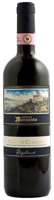 Vino rosso Chianti Monrosso