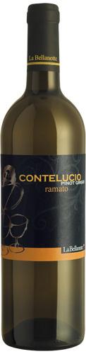 Vino bianco Conte Lucio Pinot Grigio Ramato Venezia Giulia
