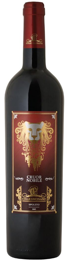 Vino rosso Cruor Nobile Rosso dell'Umbria