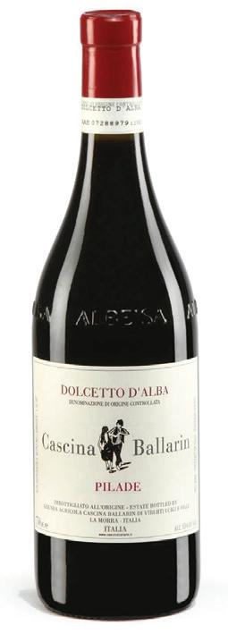 Vino rosso Dolcetto d' Alba Pilade 2018