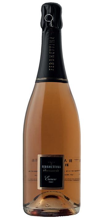 Vino rosato Franciacorta Eronero Rosè Brut 2009