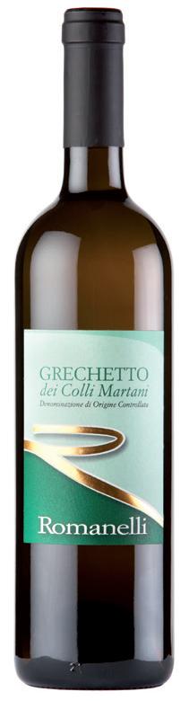 Vino bianco Grechetto dei Colli Martani
