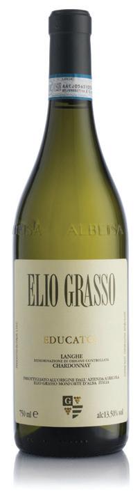Vino bianco Langhe Chardonnay Educato