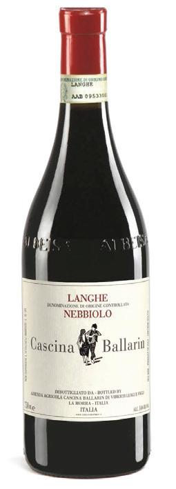 Vino rosso Langhe Nebbiolo 2017