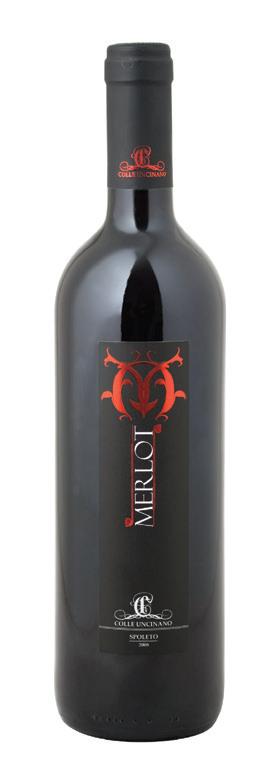 Vino rosso Merlot dell'Umbria