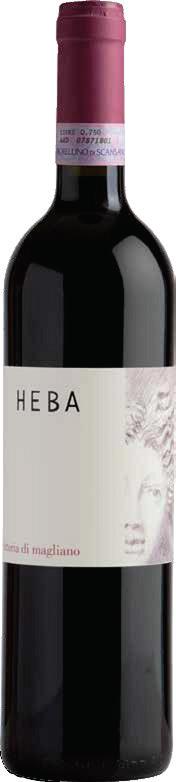 Vino rosso Morellino di Scansano Heba