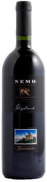 Vino rosso Nemo Vigneto il Mulino Toscana