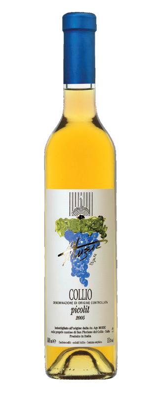 Vino rosso Picolit Collio
