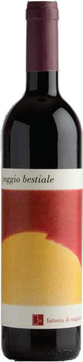 Vino rosso Poggio Bestiale Toscana Rosso