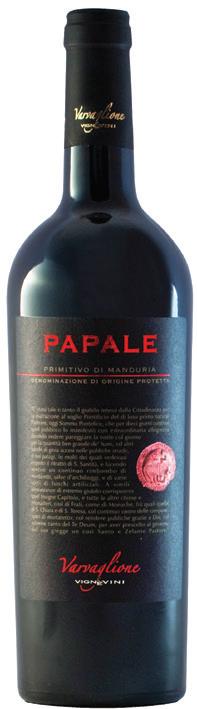 Vino rosso Primitivo di Manduria Papale