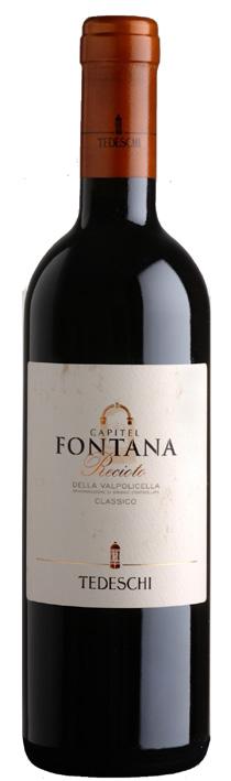 Vino rosso Recioto della Valpolicella Classico Capitel Fontana
