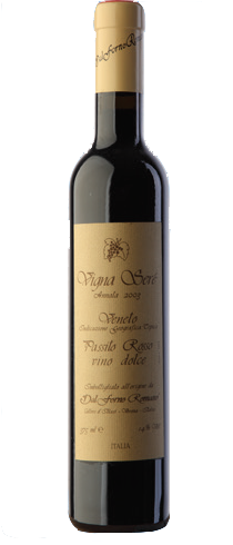 Vino rosso Recioto Passito Rosso Vigna Serè