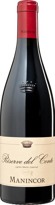 Vino rosso Reserve del Conte Rosso Vigneti delle Dolomiti
