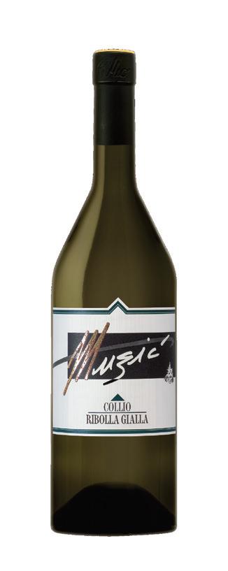Vino bianco Ribolla Gialla Collio