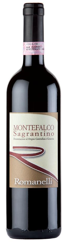 Vino rosso Sagrantino di Montefalco