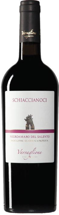 Vino rosso Schiaccianoci Negroamaro del Salento