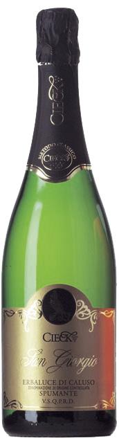 Vino rosso Spumante Metodo Classico San Giorgio