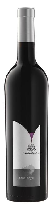 Vino rosso Teroldego Vigneti delle Dolomiti
