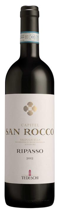 Vino rosso Valpolicella Ripasso Superiore Capitel San Rocco 2017