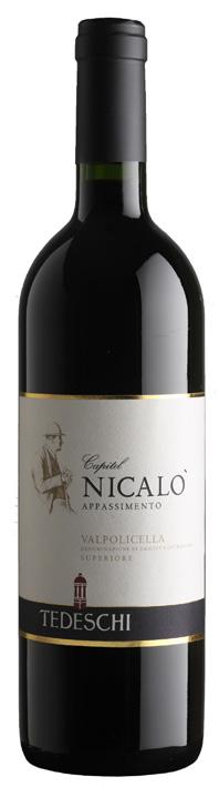 Vino rosso Valpolicella Superiore Capitel de Nicalò