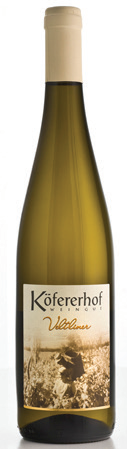 Vino bianco Veltliner Alto Adige Valle Isarco