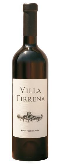 Vino rosso Villa Tirrenia Lazio