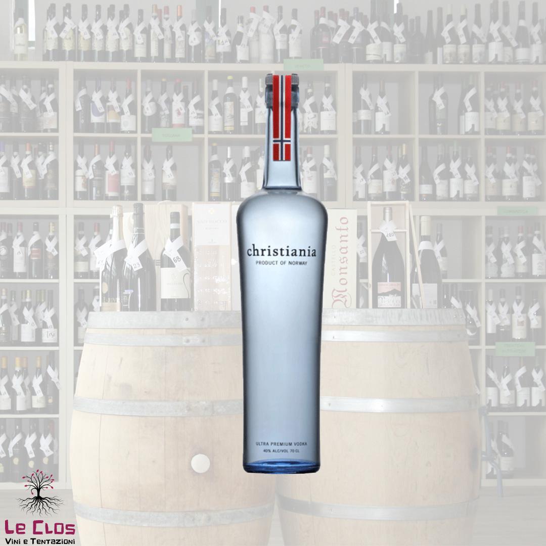 Distillato Vodka Ultra Premium Christiania