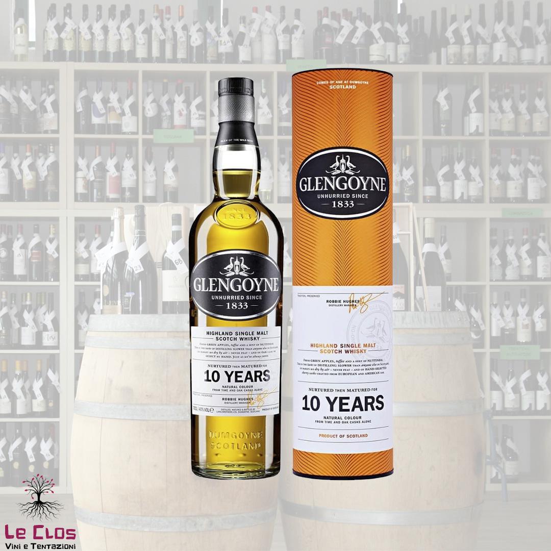 Distillato Whisky 10 anni Glengoyne