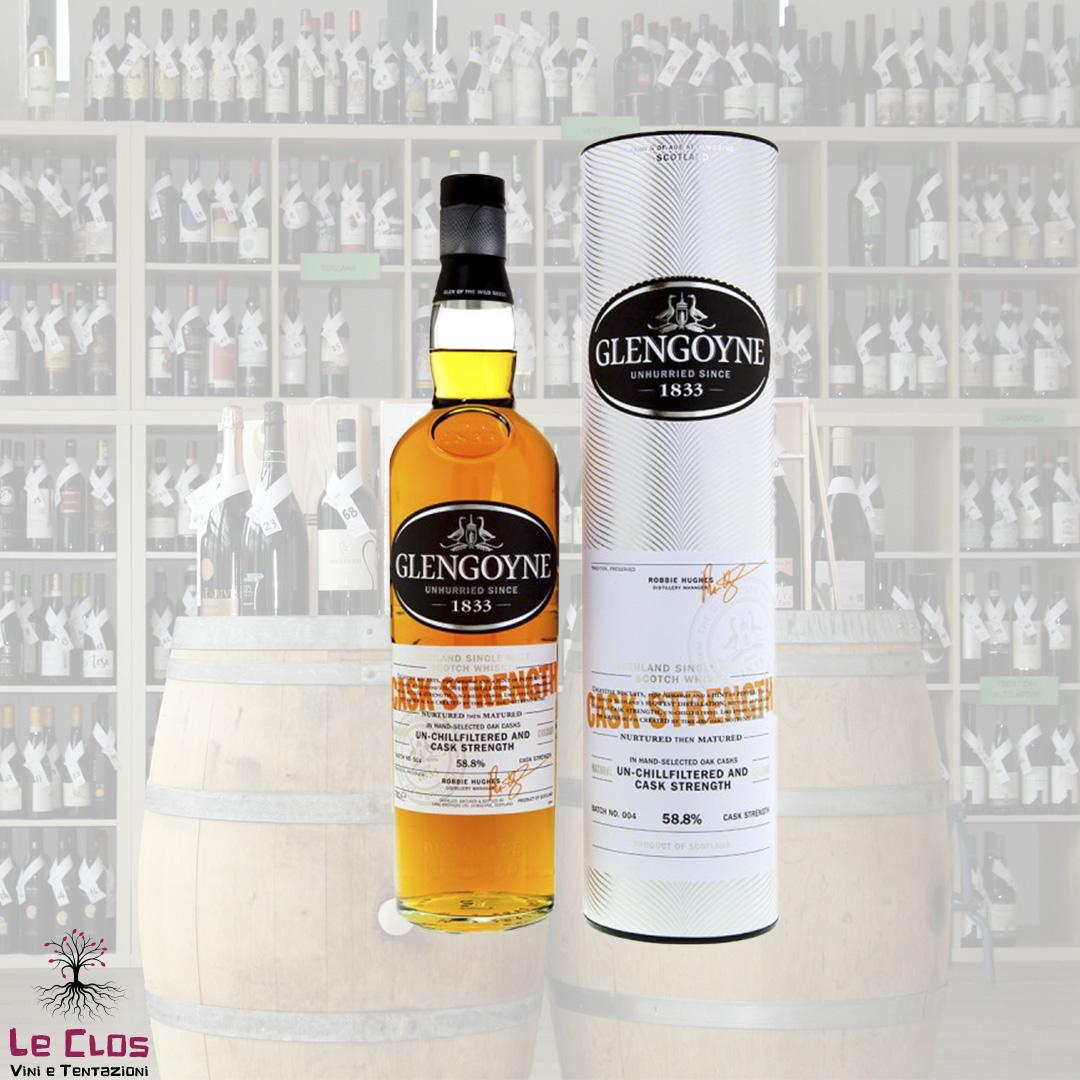 Distillato Whisky Cask Strenght Glengoyne
